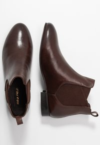 Anna Field - LEATHER CHELSEAS - Ankle boots - dark brown - 3