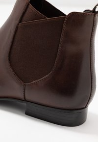 Anna Field - LEATHER CHELSEAS - Ankle boots - dark brown - 2