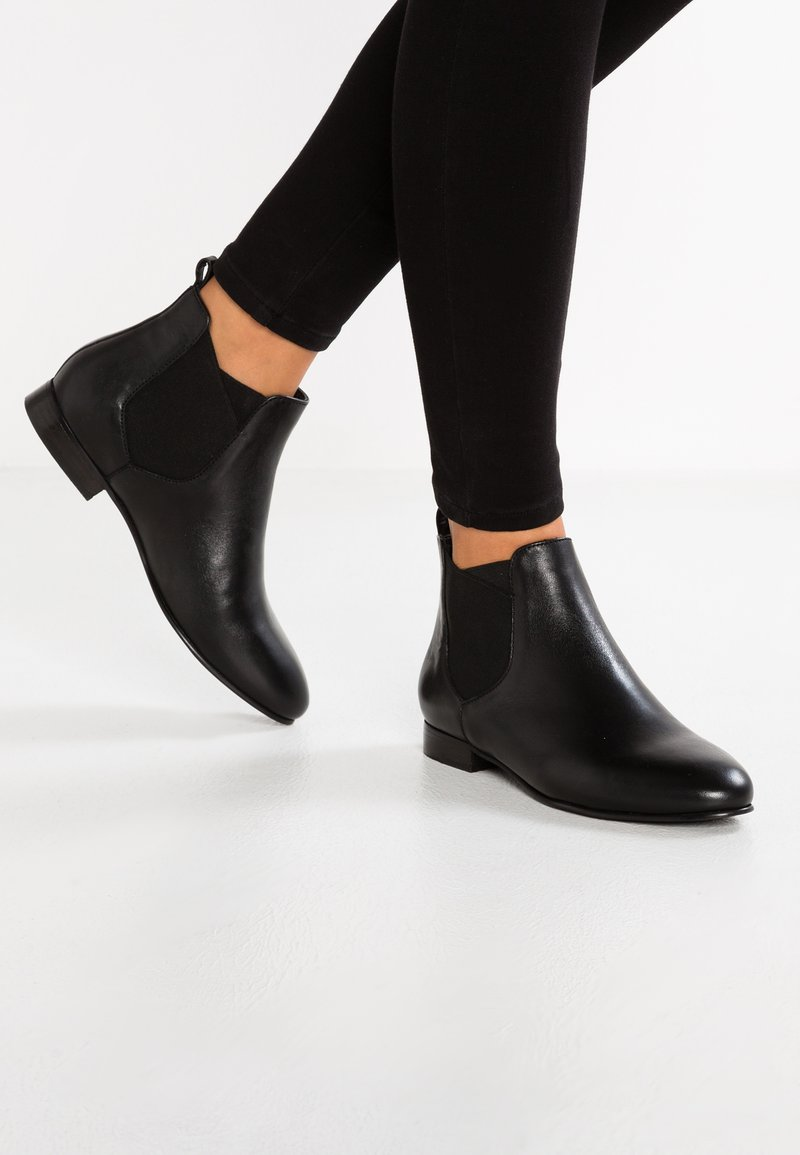 Anna Field - LEATHER CHELSEAS - Ankle boot - black