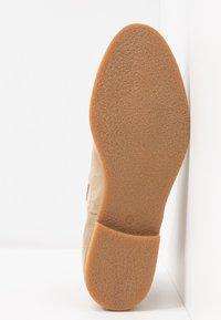 Anna Field - LEATHER CHELSEAS - Boots à talons - beige - 6