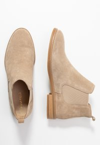 Anna Field - LEATHER CHELSEAS - Boots à talons - beige - 3
