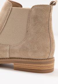 Anna Field - LEATHER CHELSEAS - Boots à talons - beige - 2