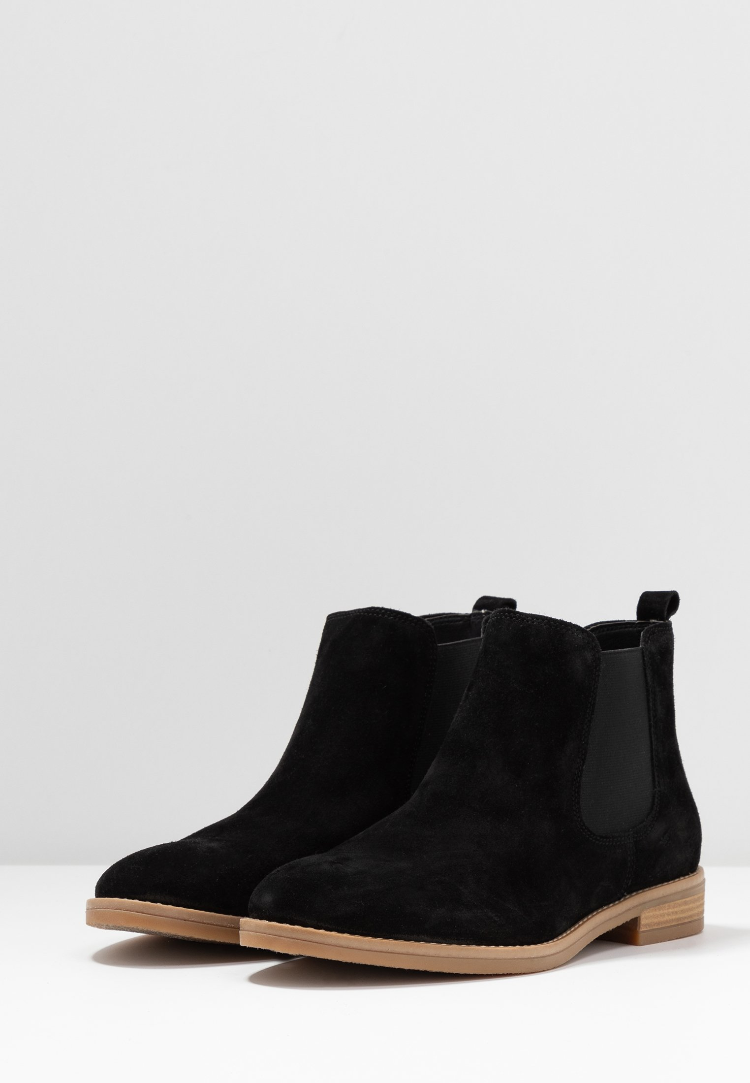 Anna Field Leather Booties - Boots À Talons Black
