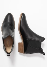 Anna Field - LEATHER CHELSEAS - Korte laarzen - black