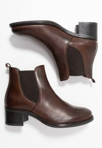 Anna Field - LEATHER BOOTIES - Ankle boots - brown - 3
