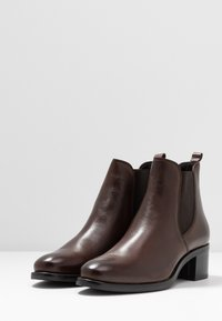 Anna Field - LEATHER BOOTIES - Ankle boots - brown - 4