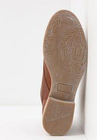 Anna Field - LEATHER BOOTIES - Ankelstøvler - cognac - 6