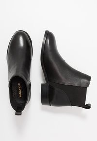 Anna Field - LEATHER BOOTIES - Støvletter - black - 3