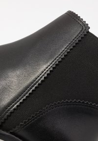 Anna Field - LEATHER BOOTIES - Støvletter - black - 2
