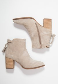 Anna Field - LEATHER CLASSIC ANKLE BOOTS - Classic ankle boots - taupe - 3