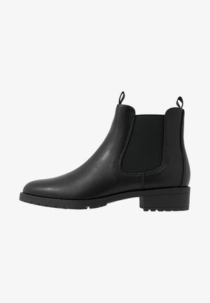 LEATHER ANKLE BOOTS - Ankle boot - black