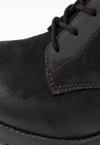 Anna Field - LEATHER CLASSIC ANKLE BOOTS - Støvletter - black - 2