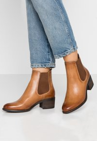Anna Field - LEATHER CHELSEAS - Tronchetti - cognac - 0