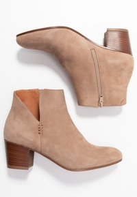 Anna Field - LEATHER BOOTIES - Ankle boot - beige - 3