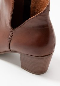 Anna Field - LEATHER BOOTIES - Ankle boots - cognac - 2