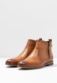 Anna Field - LEATHER BOOTIES - Classic ankle boots - cognac - 4
