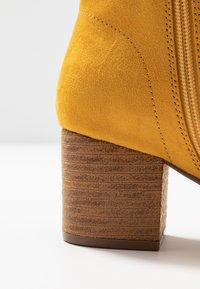 Anna Field - Kotníkové boty - yellow - 2