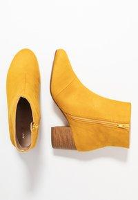 Anna Field - Kotníkové boty - yellow - 3