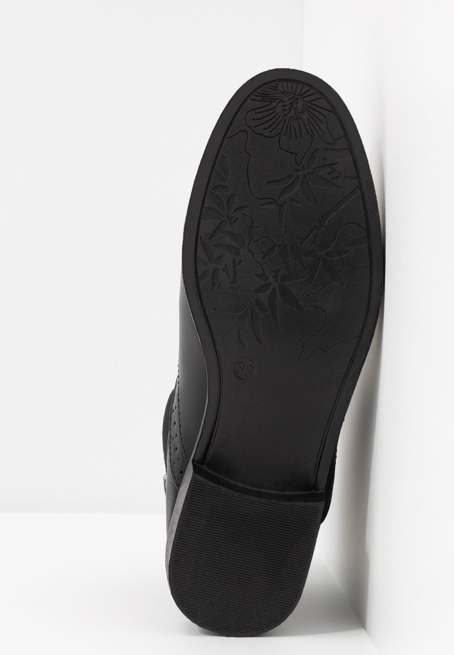 Anna Boots Field black à talons WE2YDH9I