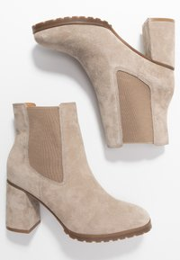 Anna Field - LEATHER ANKLE BOOTS - Ankle boots - taupe - 3