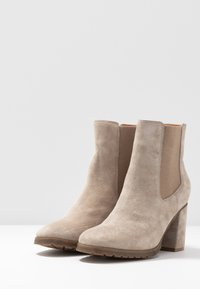 Anna Field - LEATHER ANKLE BOOTS - Ankle boots - taupe - 4