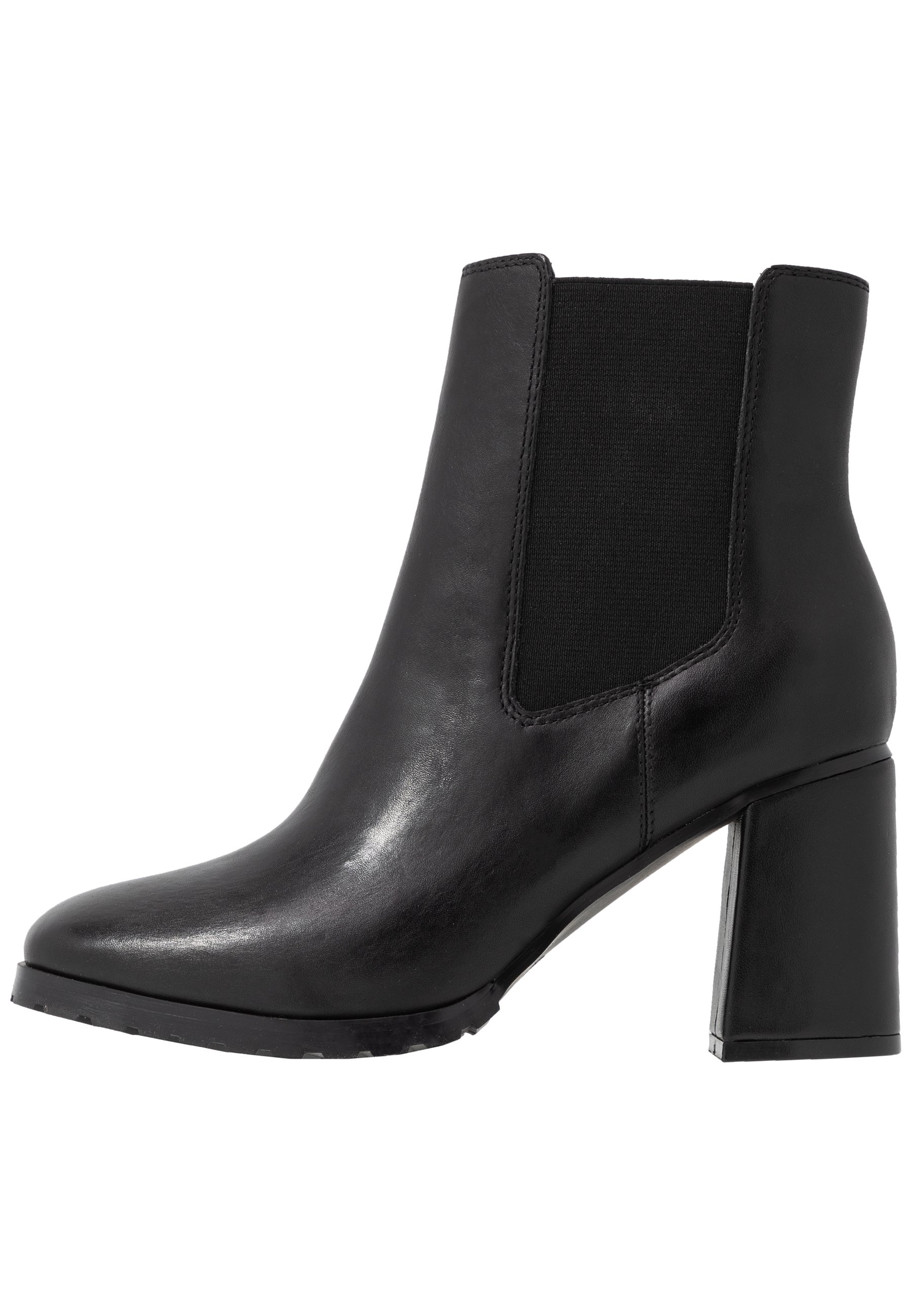 Anna Field LEATHER ANKLE BOOTS - Ankle boot - black