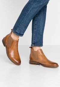 Anna Field - LEATHER BOOTIES - Ankle boot - cognac - 0