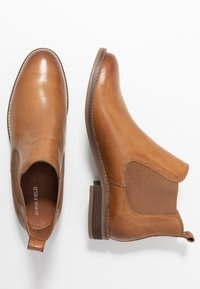 Anna Field - LEATHER BOOTIES - Ankle boot - cognac - 3