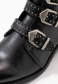 Anna Field - LEATHER BOOTIES - Boots à talons - black - 2
