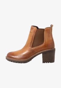Anna Field - LEATHER BOOTIES - Ankle Boot - cognac - 1
