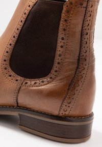 Anna Field - LEATHER BOOTIES - Botines - cognac - 2