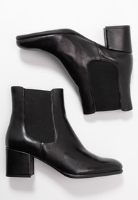 Anna Field - LEATHER BOOTIES - Ankelboots - black - 3