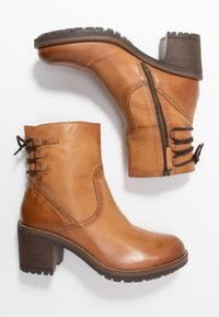 Anna Field - LEATHER BOOTIES - Classic ankle boots - cognac - 3