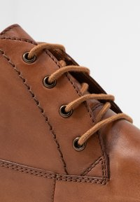 Anna Field - LEATHER BOOTIES - Lace-up ankle boots - cognac - 2