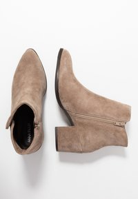 Anna Field - LEATHER BOOTIES - Ankle boots - beige - 3