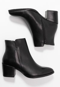Anna Field - LEATHER  - Ankle boots - black - 3