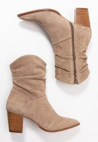 Anna Field - LEATHER CLASSIC ANKLE BOOTS - Botines - taupe - 3