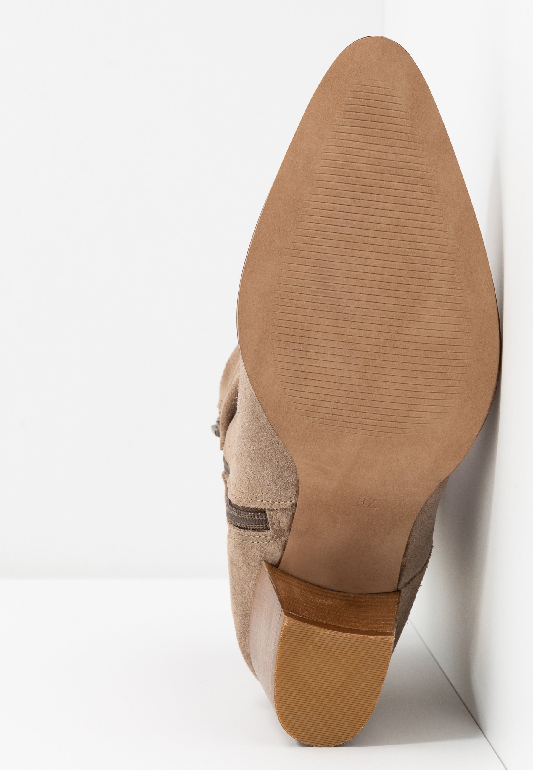 Anna Field LEATHER CLASSIC ANKLE BOOTS - Stivaletti - taupe