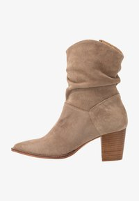 Anna Field - LEATHER CLASSIC ANKLE BOOTS - Botines - taupe - 1