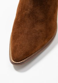 Anna Field - LEATHER CLASSIC ANKLE BOOTS - Støvletter - cognac - 2