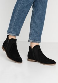 Anna Field - LEATHER ANKLE BOOTS - Ankle boot - black - 0