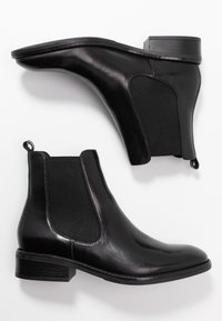 Anna Field - LEATHER CLASSIC ANKLE BOOTS - Classic ankle boots - black - 3