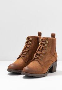 Anna Field - Boots à talons - cognac - 4