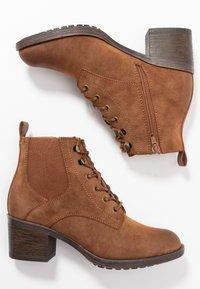 Anna Field - Boots à talons - cognac - 3