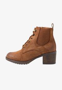 Anna Field - Boots à talons - cognac - 1