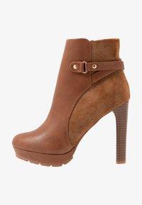 Anna Field - High heeled ankle boots - cognac - 1