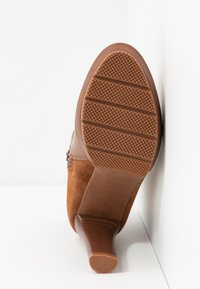 Anna Field - High heeled ankle boots - cognac - 6