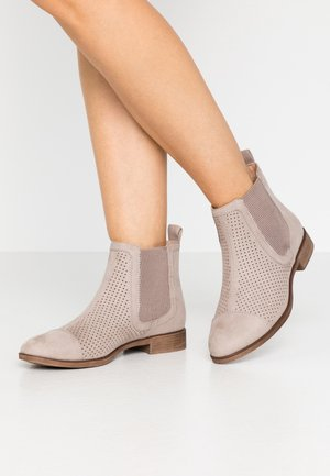 Ankle boots - light grey