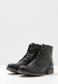 Anna Field - LEATHER BOOTIES - Ankle boots - black - 4