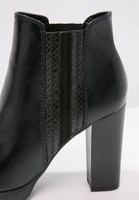 Anna Field - Kotníková obuv na vysokém podpatku - black - 5